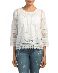 Carola Lace Top