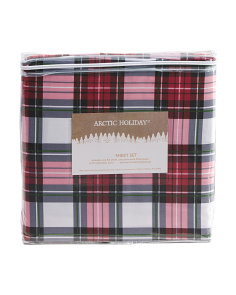 200tc Cotton Holiday Sheet Set