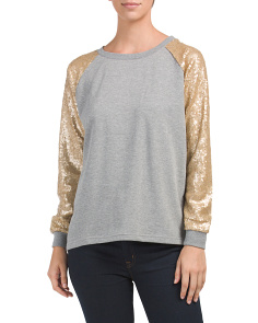 Athleisure Sequin Top