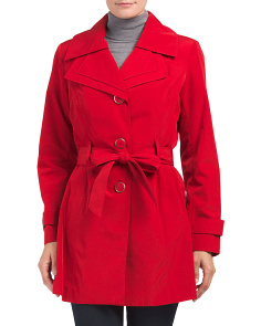 Double Lapel Trench Coat