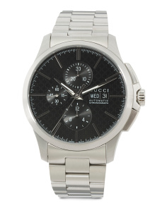 Men's Swiss Made Automatic Chronograph Bracelet Watch