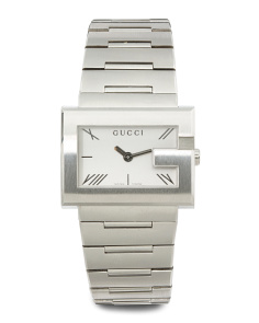 Women's Swiss Made G Rectangle Bracelet Watch