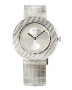 Women's Swiss Made Mesh Strap Watch