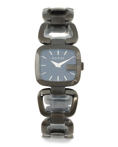 Women's Swiss Made Petite G Bracelet Watch In Blackout