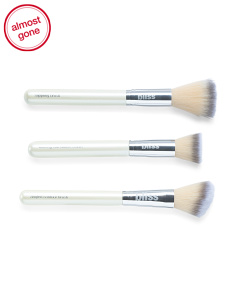 3pc Makeup Brush Set