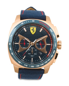 Men's Aero Evo  Nylon Strap Chronograph Watch