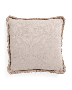 20x20 Fringed Pillow
