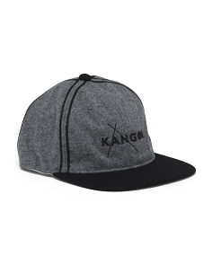 Melton Flexfit Wool Baseball Cap