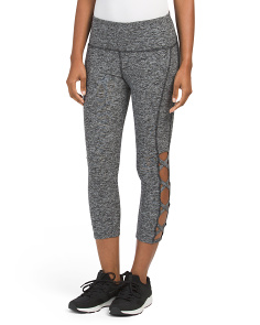 Open Lattice Capris