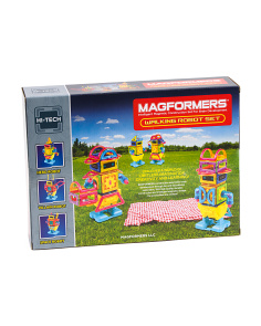 45pc Walking Robot Magnetic Construction Set
