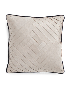 20x20 Metallic Linen Pillow