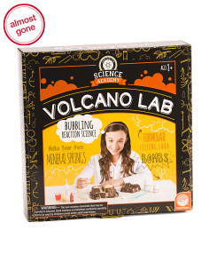 Science Academy Double Volcano Lab