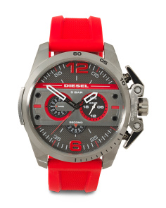 Men's Ironside Chronograph Silicone Strap Watch