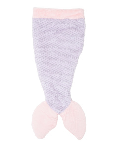 Kids Mermaid Sculpted Sleeping Bag