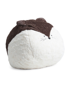 30in Plush Kitty Bean Bag Chair