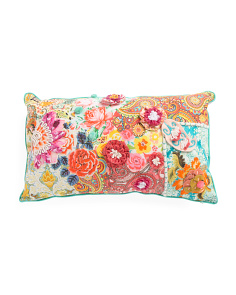 Made In India Floral Pillow