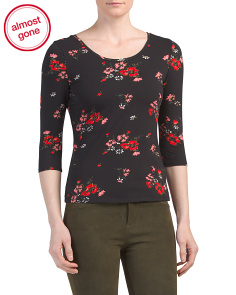 Marguerite Jersey Top