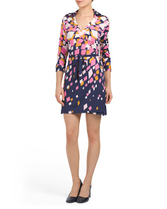 Milo Burst Wrap Dress