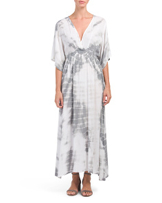 Juniors Tie Dye Maxi Dress