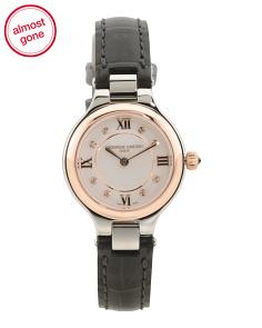 Women's Swiss Made Classic Delight Two Tone Watch