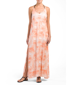 Made In USA A-line Cover-up Maxi Dress