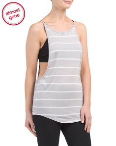 Sporty Striped Tank