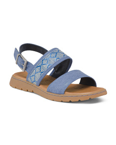 Comfort Two Band Sling Sandals
