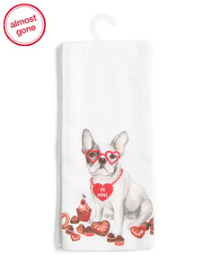 Made In India 2pk Bulldog Kitchen Towels