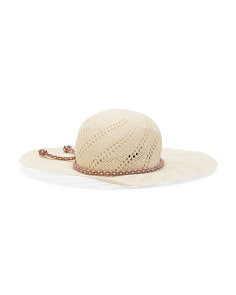Made In Italy Natural Hat