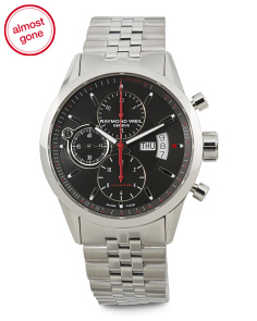 Men's Swiss Made Chronograph Freelancer Exhibition Watch
