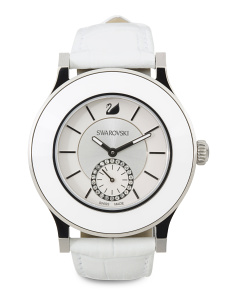 Women's Swiss Made Ceramic Bezel Octea Classica Watch