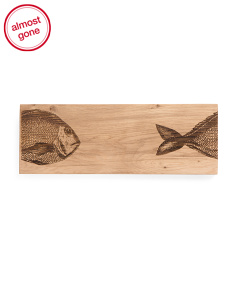 Made In Scotland 8in Oak Serving Board