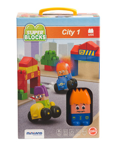 Made In Spain 44pc Super Blocks City Set