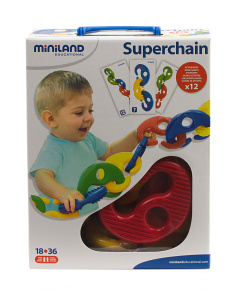 Made In Spain 16pc Super Chain Toy