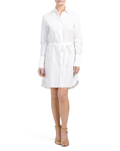 Essex Poplin Shirt Dress
