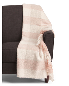 Moxie Plaid Throw