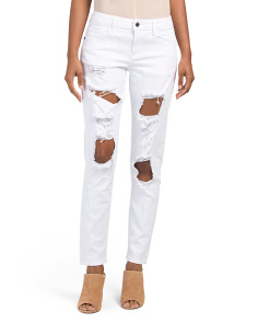 Distressed Stretch Jeans