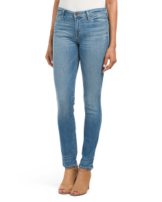 Made In USA Irregular Skinny Jeans