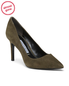 Classic Pointy Toe Suede Pumps