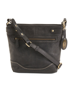 Leather Helena Crossbody