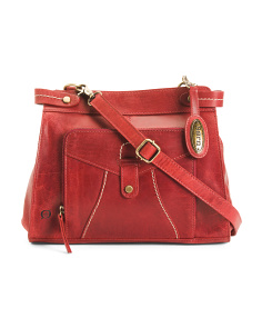 Leather Kallista Crossbody