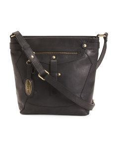 Leather Glendale Crossbody