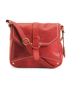 Kavya Leather Crossbody