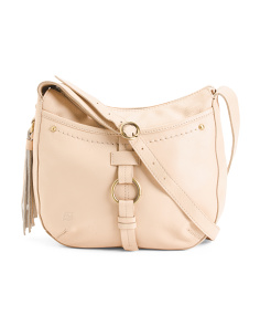 Leather Bronco Crossbody