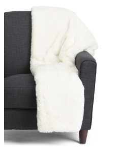 Bershka Faux Fur Throw