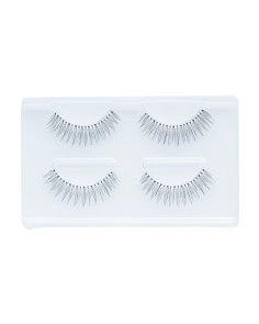 2pk So Natural Lashes In Hard Case