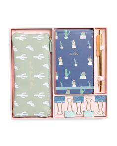 Cactus Fun Stationery Set
