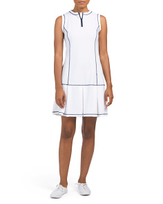 Active Spf 50 Box Pleat Dress