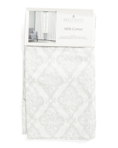 Set Of 2 52x96 Medallion Curtains