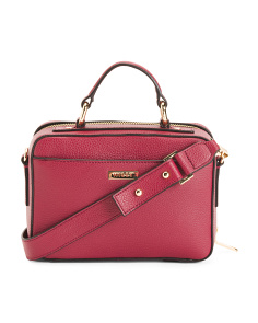 Astor Leather Satchel